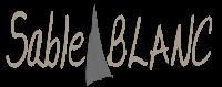 SABLE BLANC LOGO SITE LANDING